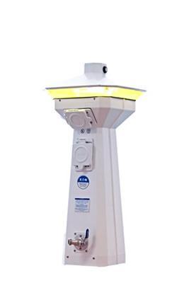 Henderson Marine Supply Hatteras Light Power Pedestal